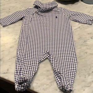 Herringbone Ralph Lauren onesie